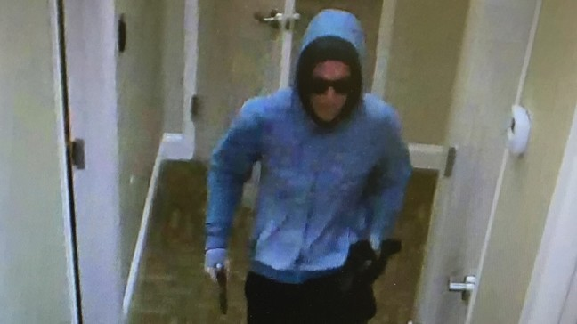 Man wanted for Forest Acres bank robbery identified