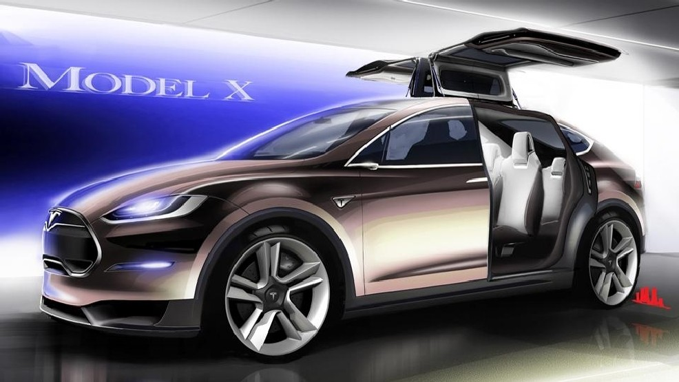 Why Tesla Model X Electric Suv Is Late Range Towing Falcon Doors