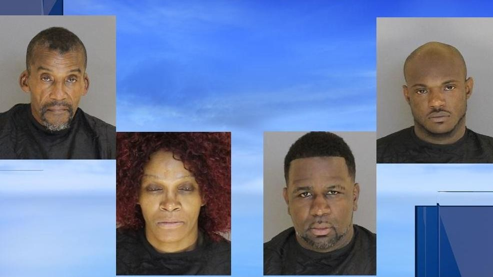 Investigation leads to 5 arrests, seizure of drugs and guns